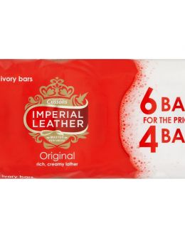 IMPERIAL LEATHER 4+2 BARS