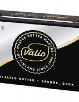 Valio unsalted butter 200g